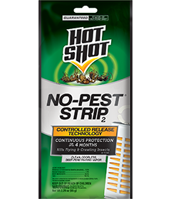 Hot Shot HG-5580 No-Pest Strip Flying and Crawling Insect Killer Odorless Vapor