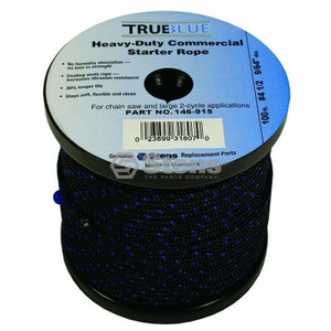 Stens 146-915 True Blue 100' Starter Rope  /  #4-1/2 Solid Braid
