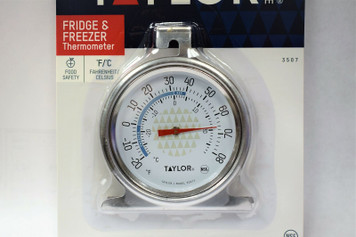 Taylor TruTemp Refrigerator / Freezer Dial Type Thermometer