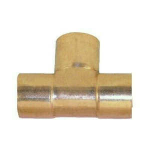 "Elkhart 32768 Lot of 10 Copper Sweat Tee 3/4"" x 3/4"" x 3/4"" ID Plumbing Fitting"