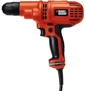 "Black & Decker DR260C/B 3/8"" 5.2 Amp Drill/Driver Kit"