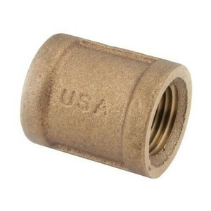 Anderson Metal Corp. 738103-12 Coupling Brass 3/4mpt