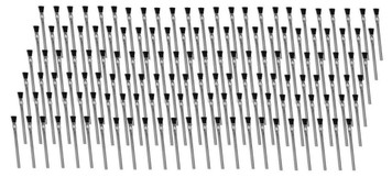 "Oatey 30712 144 Acid Brushes 6"" w/ Horsehair Bristles for Solder Flux Contact Cement etc."