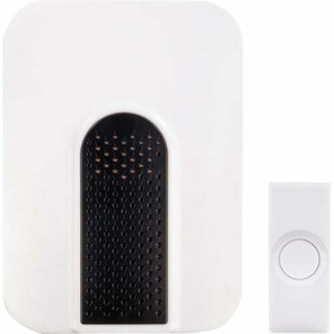 HeathCo LLC SL-7750-02 Off White Wireless Chime Kit