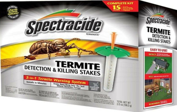 Spectracide Termite Detection & Killing Stakes - Box of 15 (HG-96115)