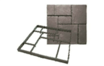 Quikrete 6921-34 Walk Makers European Block Concrete Walkmaker 2' x 2' x 2""