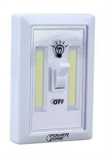 Power Zone 12532 LED 200 Lumens Cordless Light Switch