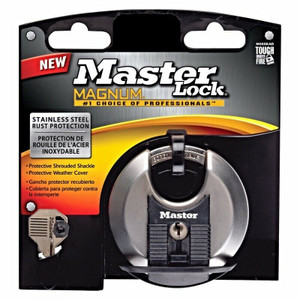 "Lot of 6 Master Lock M50XKAD/ M50XD Magnum 3-1/8"" Shrouded Padlock"