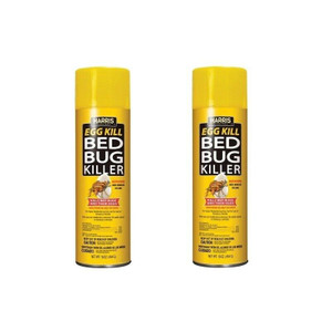 Harris EGG-16 Aerosol 16 Ounce 2 Pack Bed Bug Killer Egg Spray