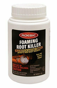 Roebic FRK-12 1-LB. Foaming Root Killer For Sewer And Septic Drains