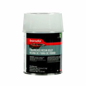 3M Bondo 432 Non-Drip Milled Fiberglass Resin Jelly Quart