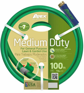 "Apex  8535-100 Medium Duty General Purpose Garden Hose 5/8"" X 100'"
