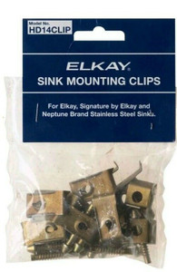 Elkay HD14CLIP 14 Piece Sink Mounting Clips Hardware Kit