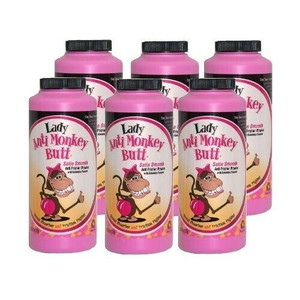 Lady Anti Monkey Butt Powder w/ Calamine Powder (Case of 6, 6oz)