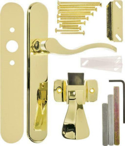 Hampton VBG115PB Serenade Polished Brass Storm Door Latch Lever