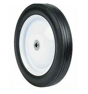 "Arnold 10"" x 1.75"" Universal Ball Bearing Steel Wheel Tire 80lb Max"