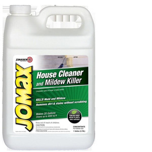 Jomax 60101 One Gallon Concentrated Mildew Remover House Siding Cleaner