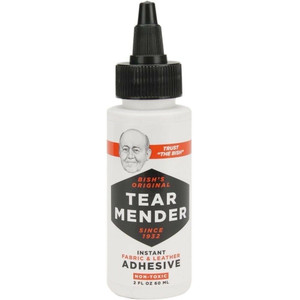Tear Mender TM-1 Fabric & Leather Adhesive Mender 2oz Waterproof