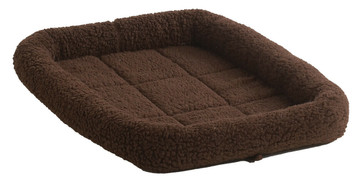 Allied Precision API 160742 Chocolate Colored Small Pet Bed