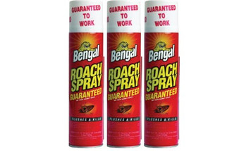 Bengal 92465 Oderless Roach Spray - 9oz can. Qty of 3