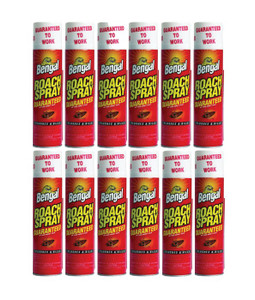 Bengal 92465 Oderless Roach Spray - 9oz can. Qty of 12