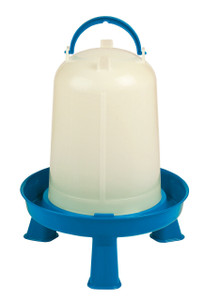 Double-Tuf DT9874 Poultry 1 Gallon Waterer With Removable Legs