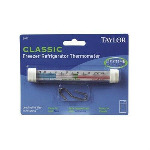 Taylor Classic Freezer Refrigerator Thermometer 5977