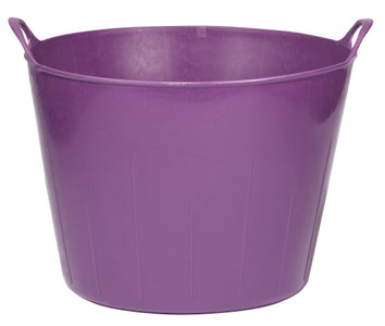Little Giant FT11PURPLE 11 Gallon Poly/Rubber Flex Tub