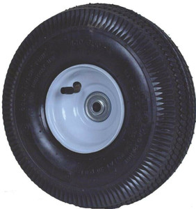 "Martin 354DC4SW242P 10"" Tire and Wheel Pneumatic Sawtooth Tread"