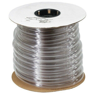 "Abbotts RVHF 200ft Clear Vinyl Tubing  5/16"" x 7/16"""