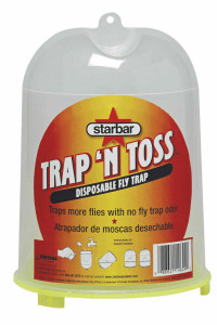 Starbar 100520149 Trap 'N Toss Disposable Fly Trap