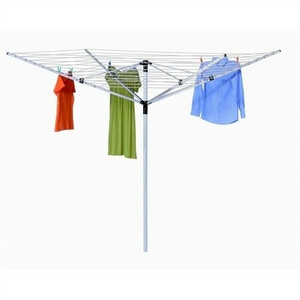 Honey Can Do DRY-05262 Umbrella Outdoor Clothesline Dryer