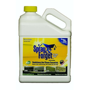 Spray & Forget SF1G-J 1 Gallon Concentrated No Rinse Roof Cleaner