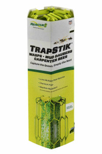 Rescue TSWCC48 TrapStik Wasp, Mud Dauber, and Carpenter Bee Trap