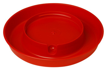 Little Giant 750 Plastic 1 Gallon Screw-On Poultry Waterer Base