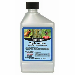 Fertilome 12245 Triple Action: Insecticide, Fungicide and Miticide - 16 Fl. Oz.