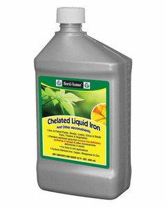 Fertilome 10630 Chelated Liquid Iron and other Micro Nutrients - 32 oz