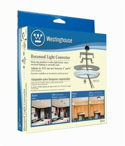 Westinghouse Recessed Can Light Converter for Hanging Light Fixtures 01011