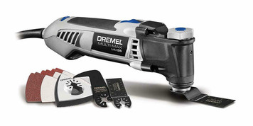 Dremel MM35-01 Multi-Max 3.5-Amp Oscillating Tool Kit with Tool-Less Accessory Change