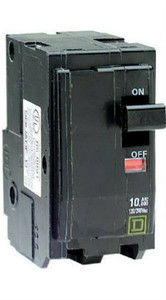 Square D by Schneider Electric 30A Double Pole Plug On Circuit Breaker