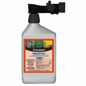 Fertilome 32 Oz Weed Out With 2,4-D, Quinclorac Weed Crabgrass Killer 11031