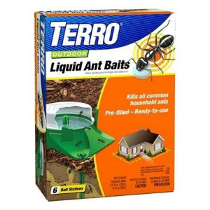 Terro 1806 Liquid Outdoor Ant Bait Stations (6 Pack)
