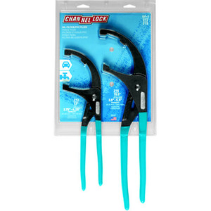 Channellock OF-1 Set of 2 Adjustable Oil Filter Pliers