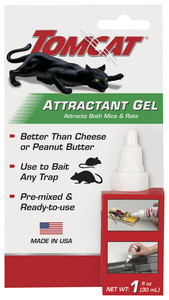 Tomcat BL33901 Attractant Gel Bait for Mouse or Rat Traps
