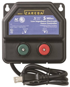 Zareba EA5M-Z AC Powered Low Impedance Charger, 5 Mile