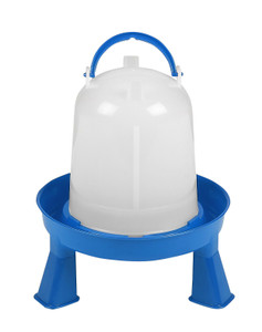 Double-Tuf DT9870 1.5 Quart/1.5 Liter Poultry Waterer With Legs