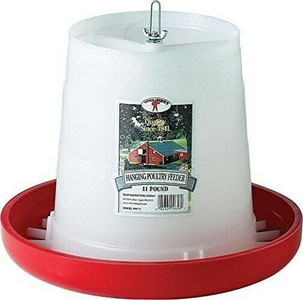 Little Giant PHF11 11 Pound Plastic Hanging Poultry Feeder