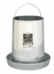 Little Giant 914043 30-Pound Hanging Metal Poultry Feeder