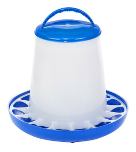 Double-Tuf DT9855 Plastic 5 Lb. Poultry Feeder