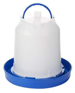 Double-Tuf DT9862 Plastic 2.5 Gallon Poultry Waterer
